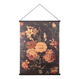 wandkleed miyagi flowers l 120 x 90 x 2