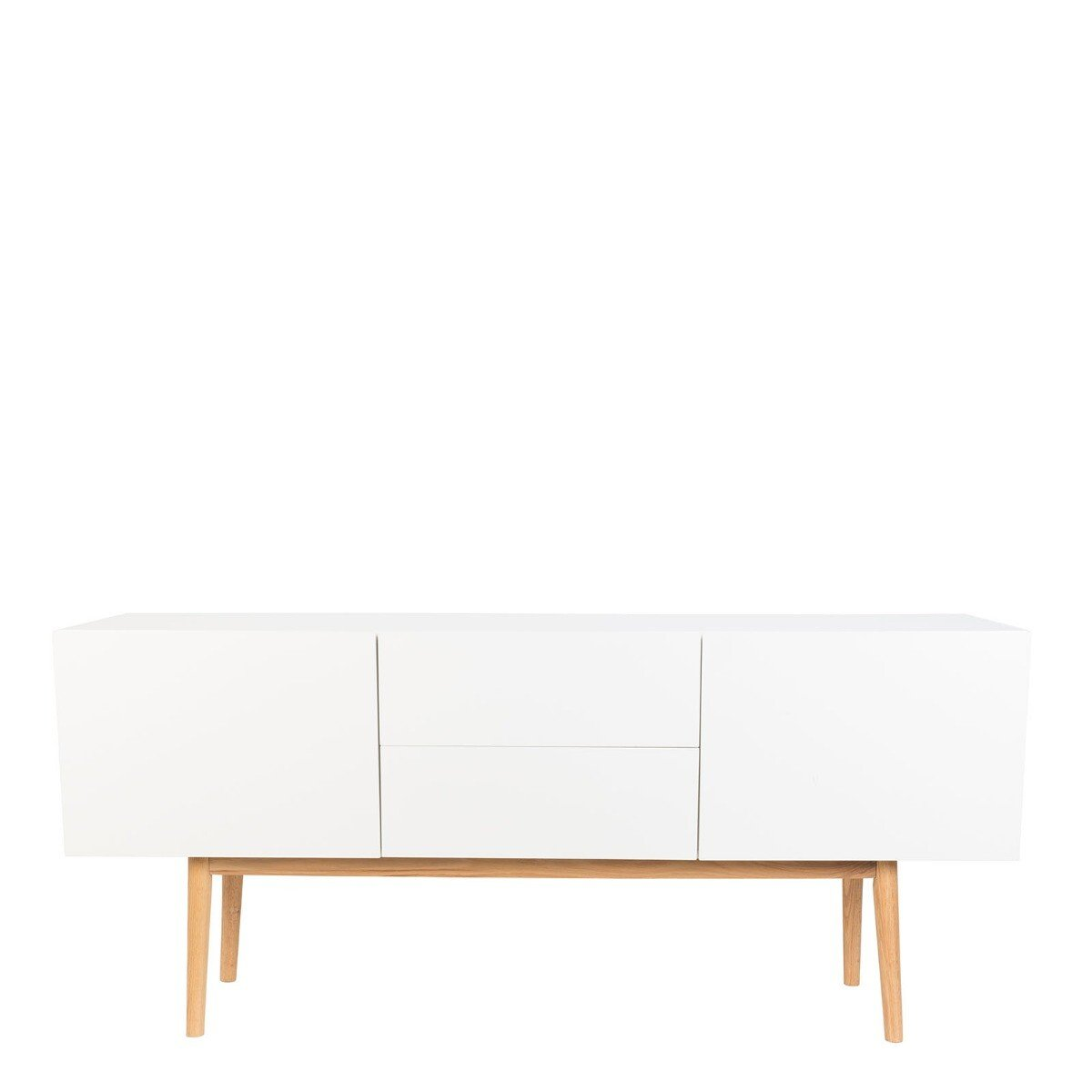 Zuiver dressoir High on Wood MDF wit 71,5 x 160 x 40