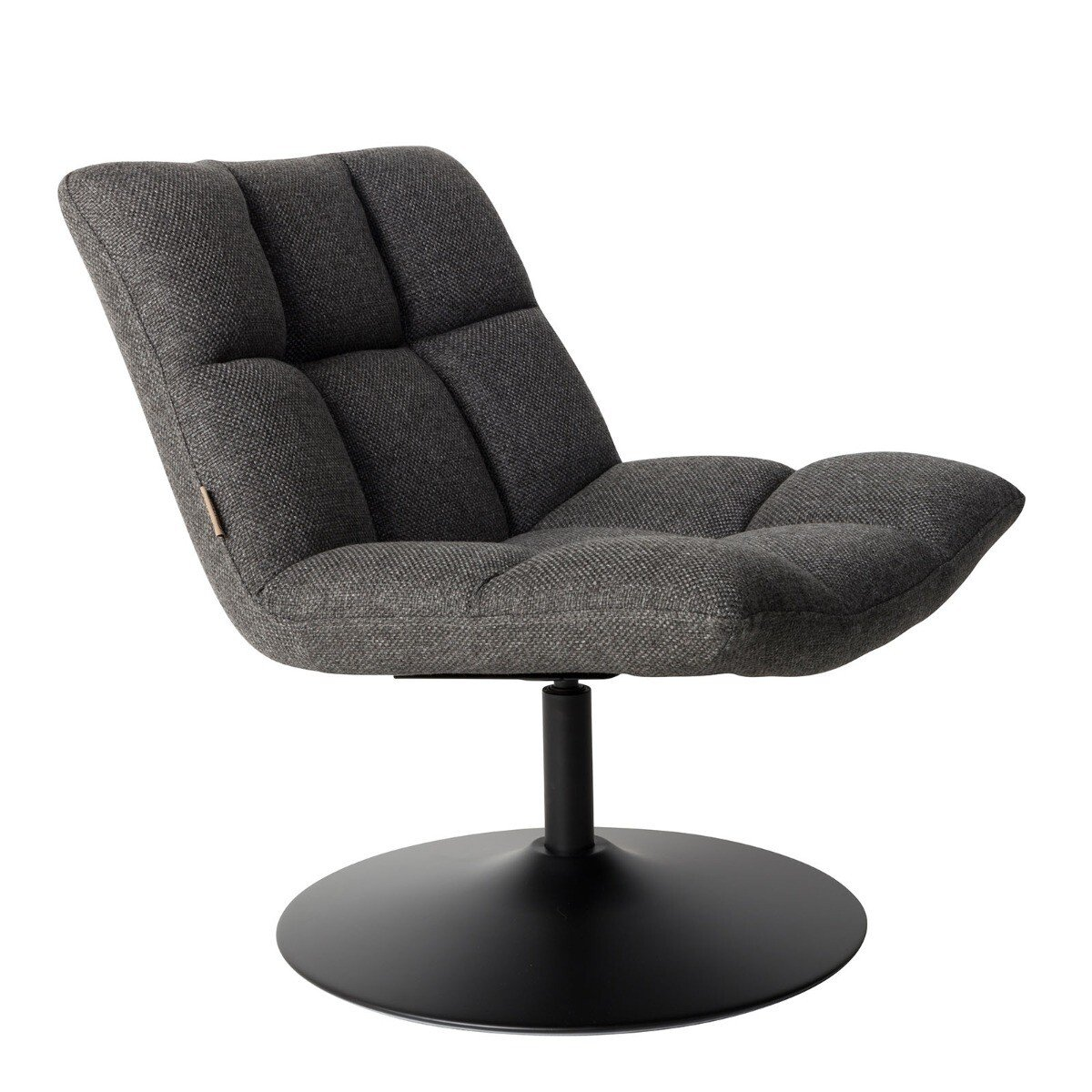 Dutchbone Bar Loungestoel Dark Grey