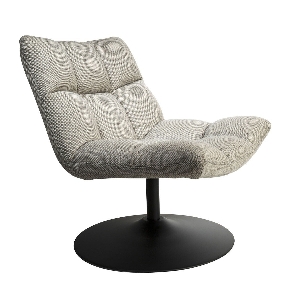 Dutchbone Bar Loungestoel Light Grey