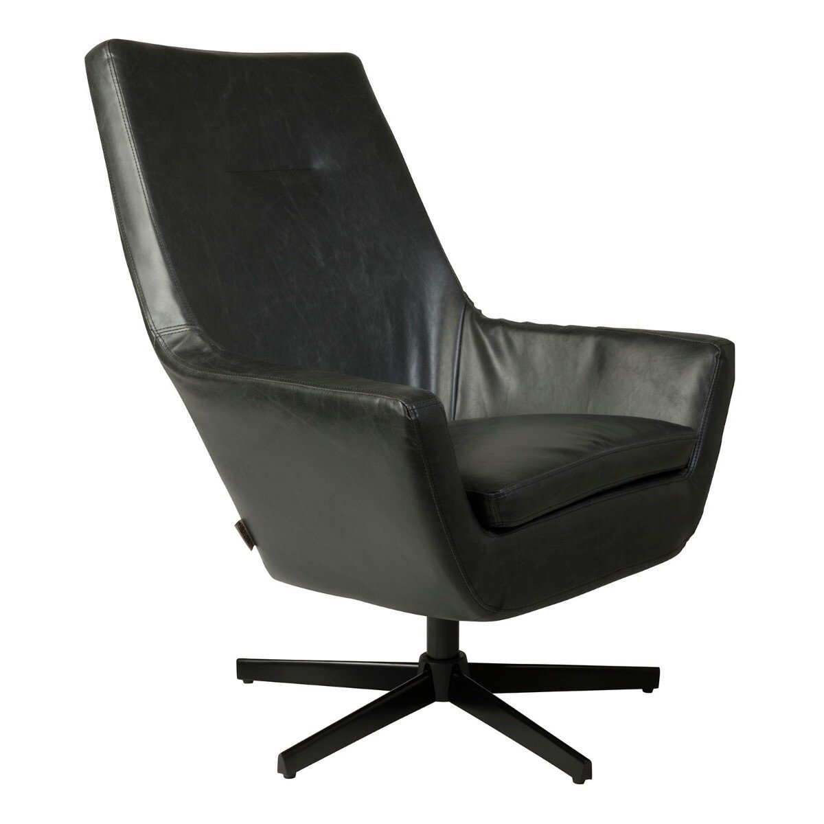 Dutchbone Don Fauteuil 95 cm Black