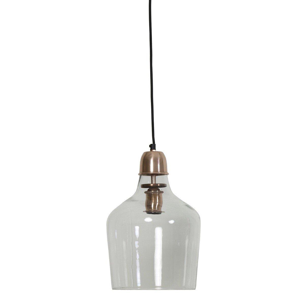 Hanglamp Sage glas koper