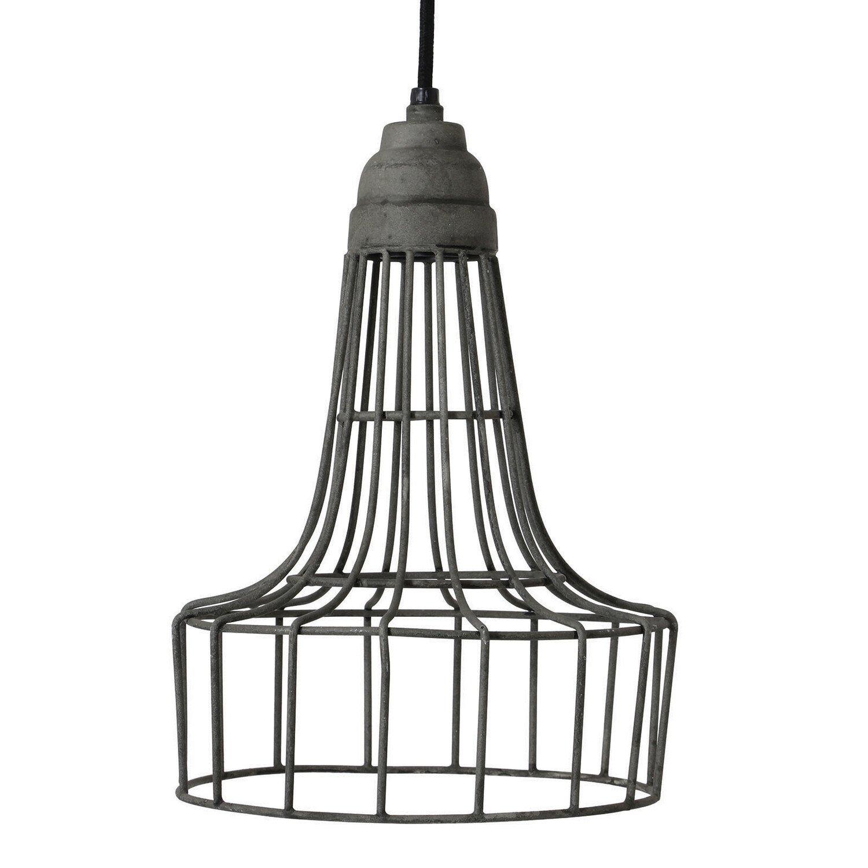 Light&Living hanglamp Babette cement 30 x �20