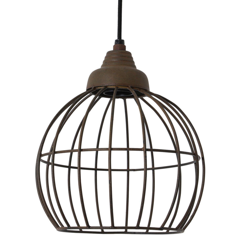 Light&Living Hanglamp Benthe oud roest 25 x �20