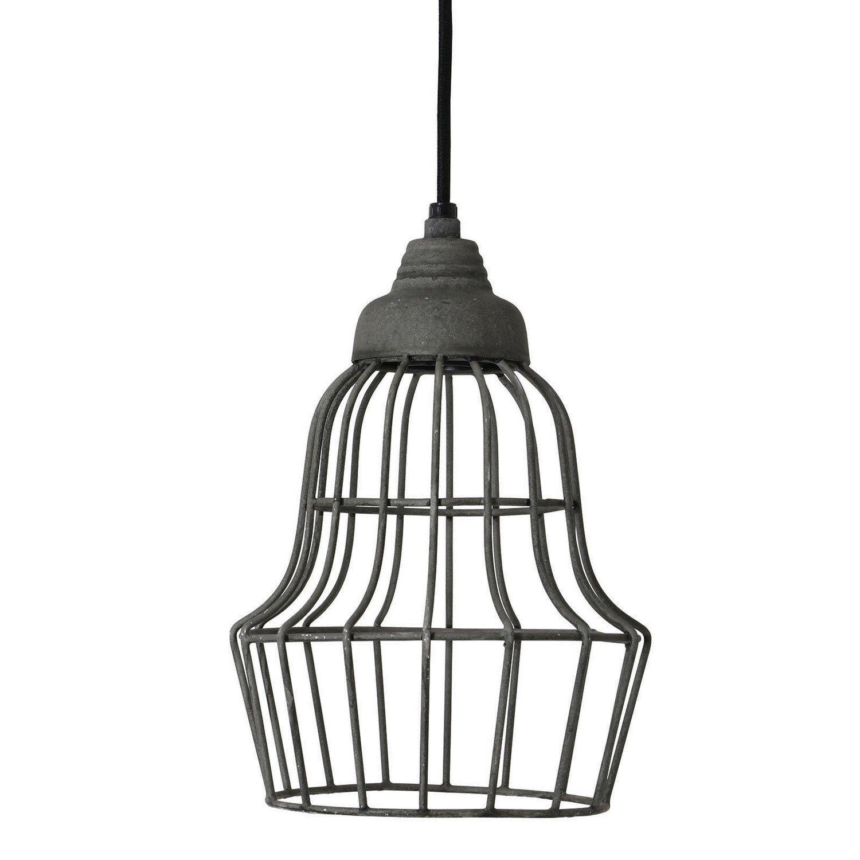 Light&living hanglamp Birke cement 27x �17
