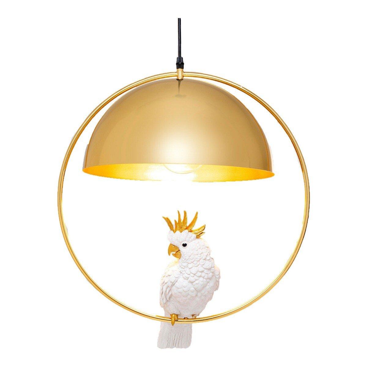Kare Design hanglamp pendant cockatoo goud 60 x 45,5 x 45,5