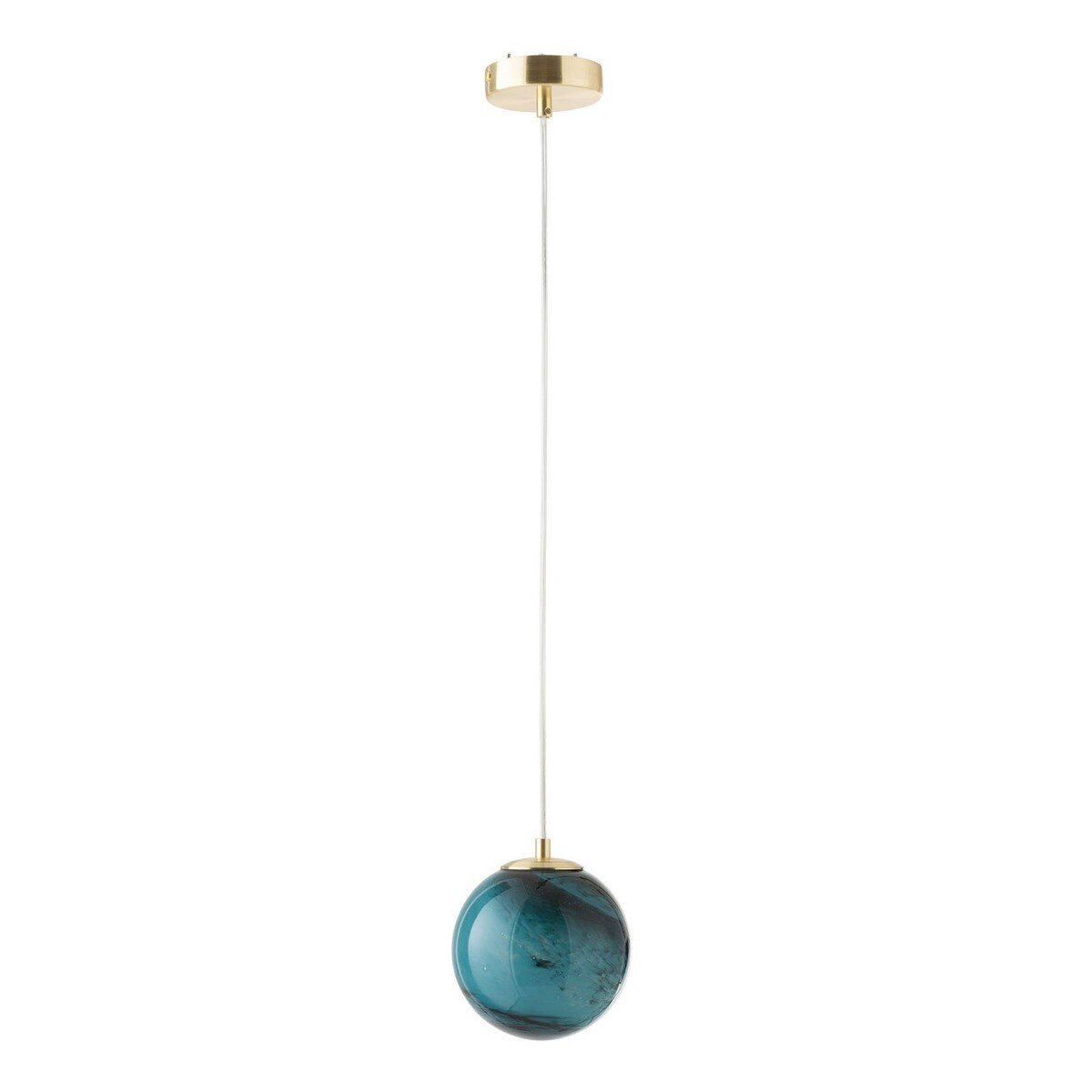 J-Line Hanglamp Dany Rond Glas 151 x 14,5 x 14,5