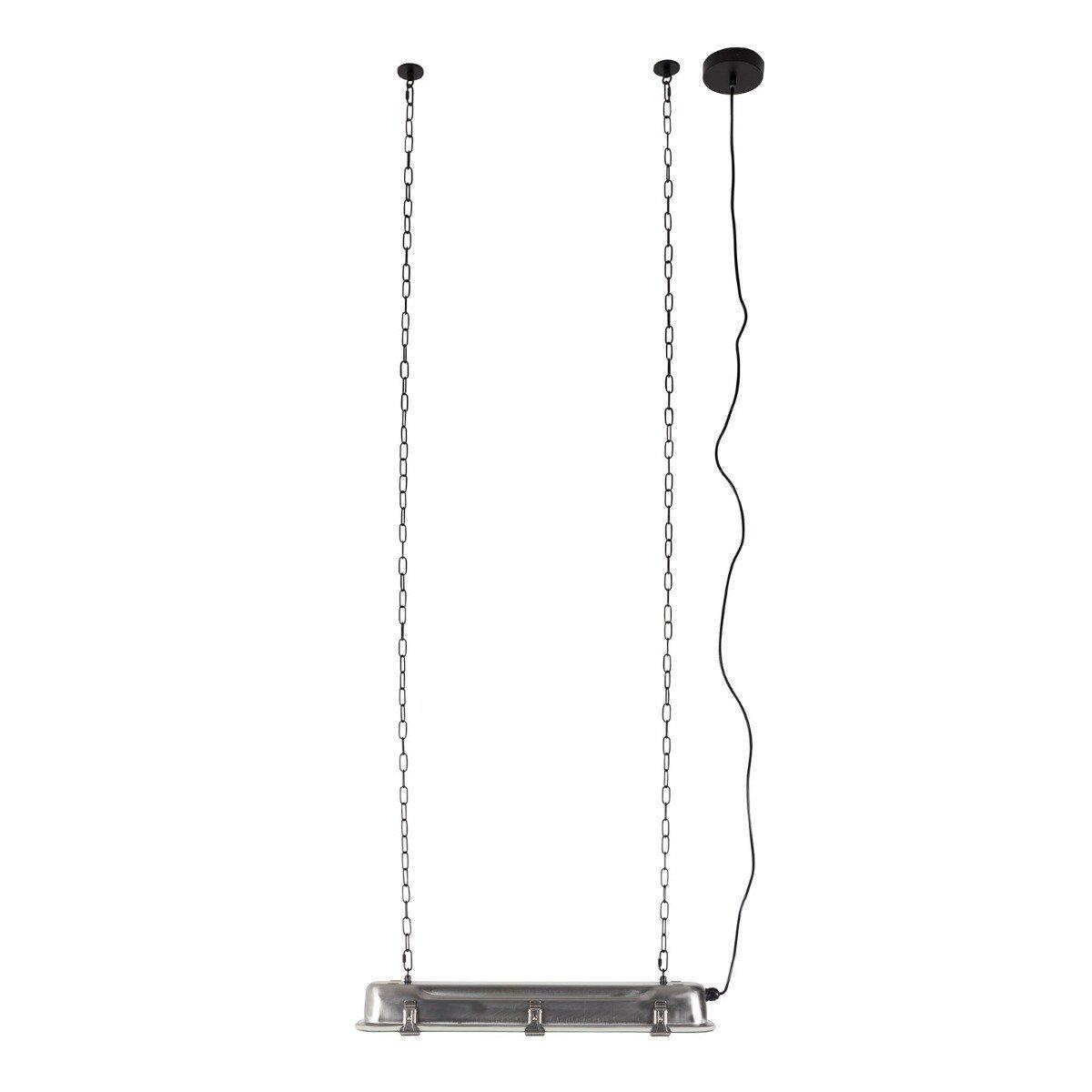 Zuiver hanglamp G.T.A nikkel L 10 x 70 x 14