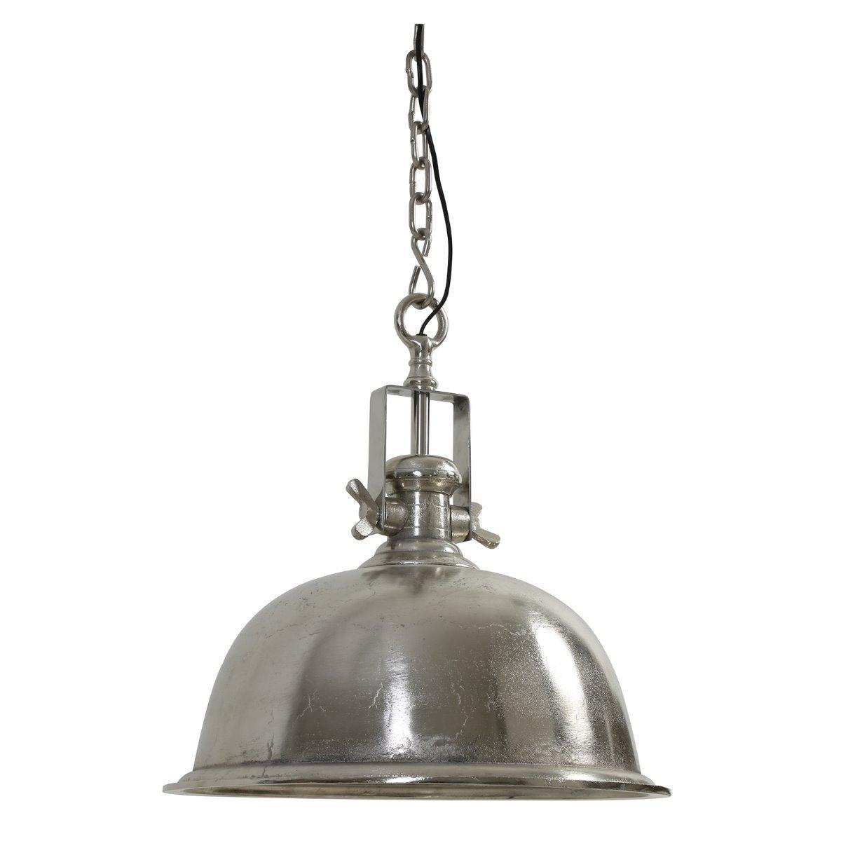 Light&Living Hanglamp Kennedy ruw antiek nikkel L 50 x �50