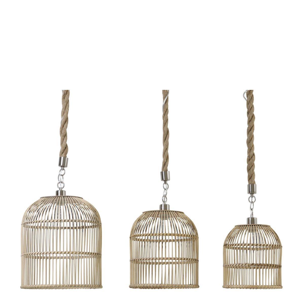 Light&Living Hanglamp Molara naturel-touw 39 x �35 31,5 x �30 26 x �26