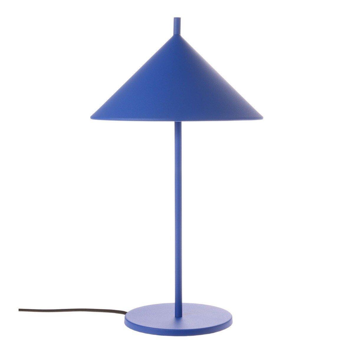 HKliving Tafellamp Metalen Driehoek Blauw 48 x �25