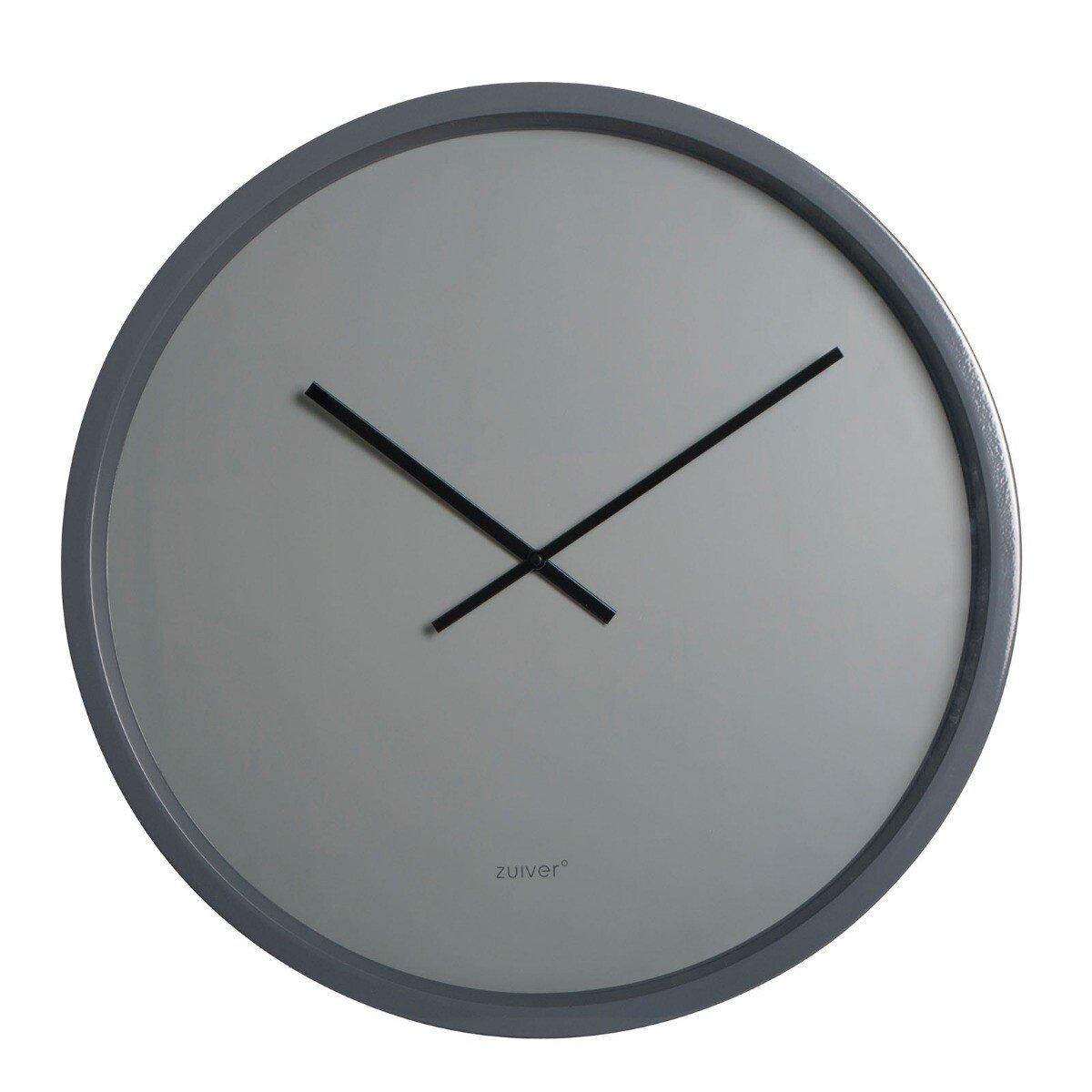 Zuiver Klok Bandit Time grijs �60 x 5