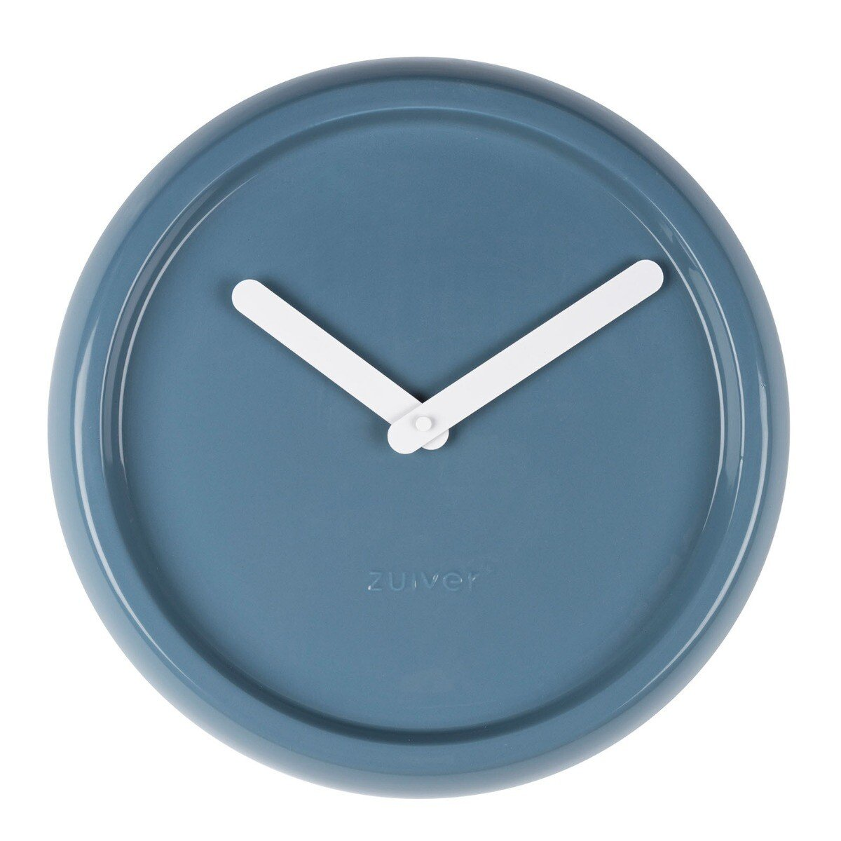 Zuiver Ceramic Time Wandklok Blauw