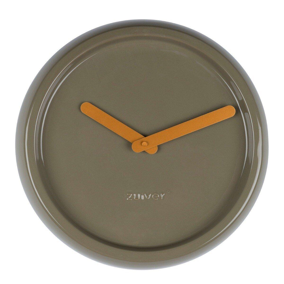 Zuiver Ceramic Time Wandklok Groen