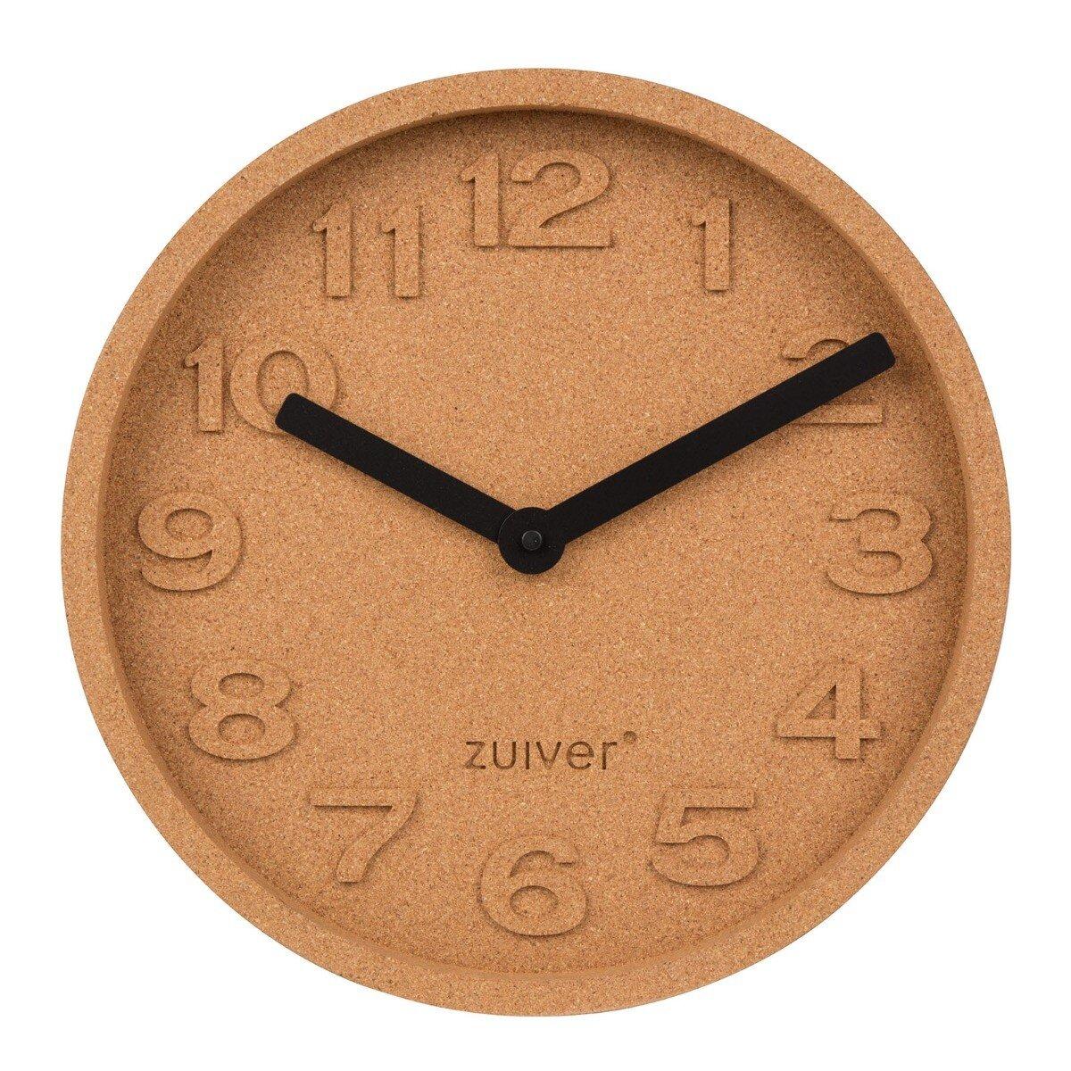 Zuiver Klok Cork Time �31 x 5,5
