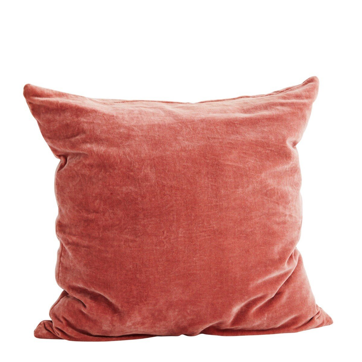 Madam Stoltz Kussenhoes dusty rose velvet 50 x 50