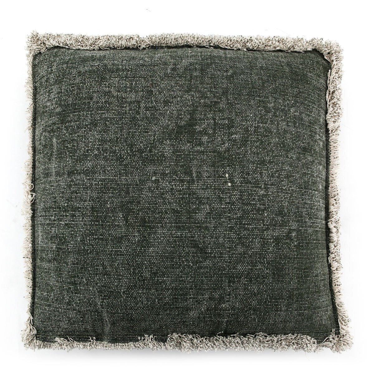 By Boo kussen mono groen large 60 x 60 x 20