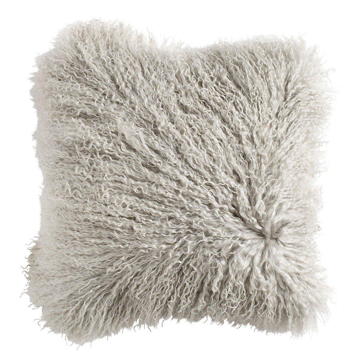 Nordal kussenhoes schapenvacht grijs 40 x 40