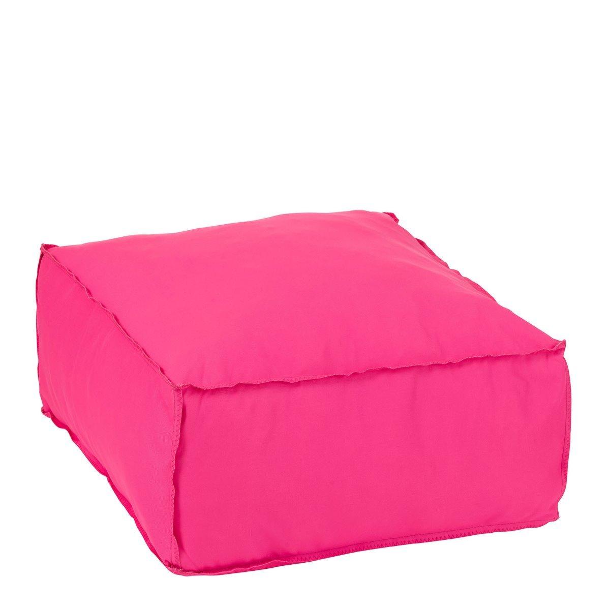 J-Line poef blok roze 28 x 60 x 60