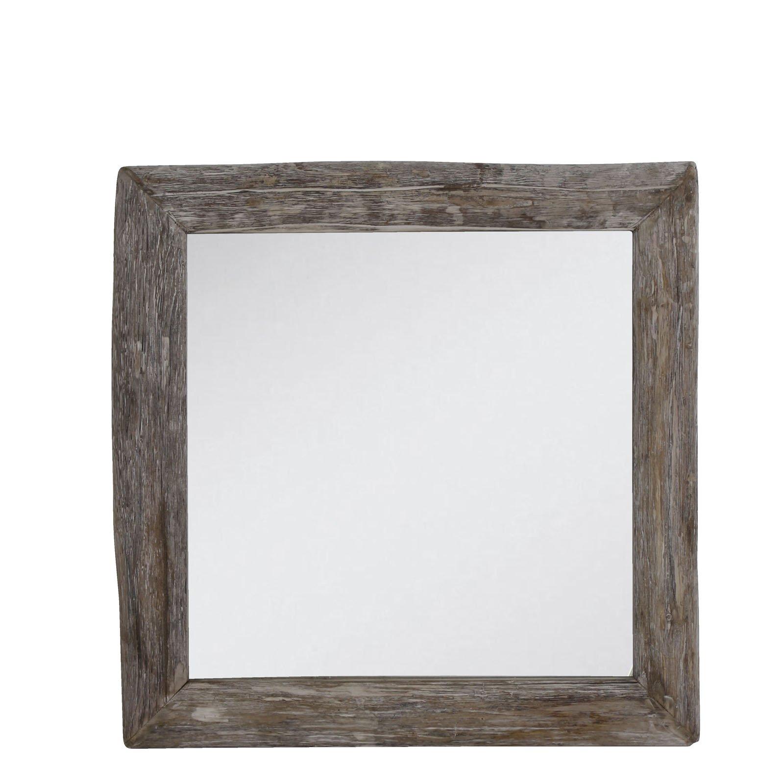 Light&Living Spiegel Sight hout vierkant 60 x 60