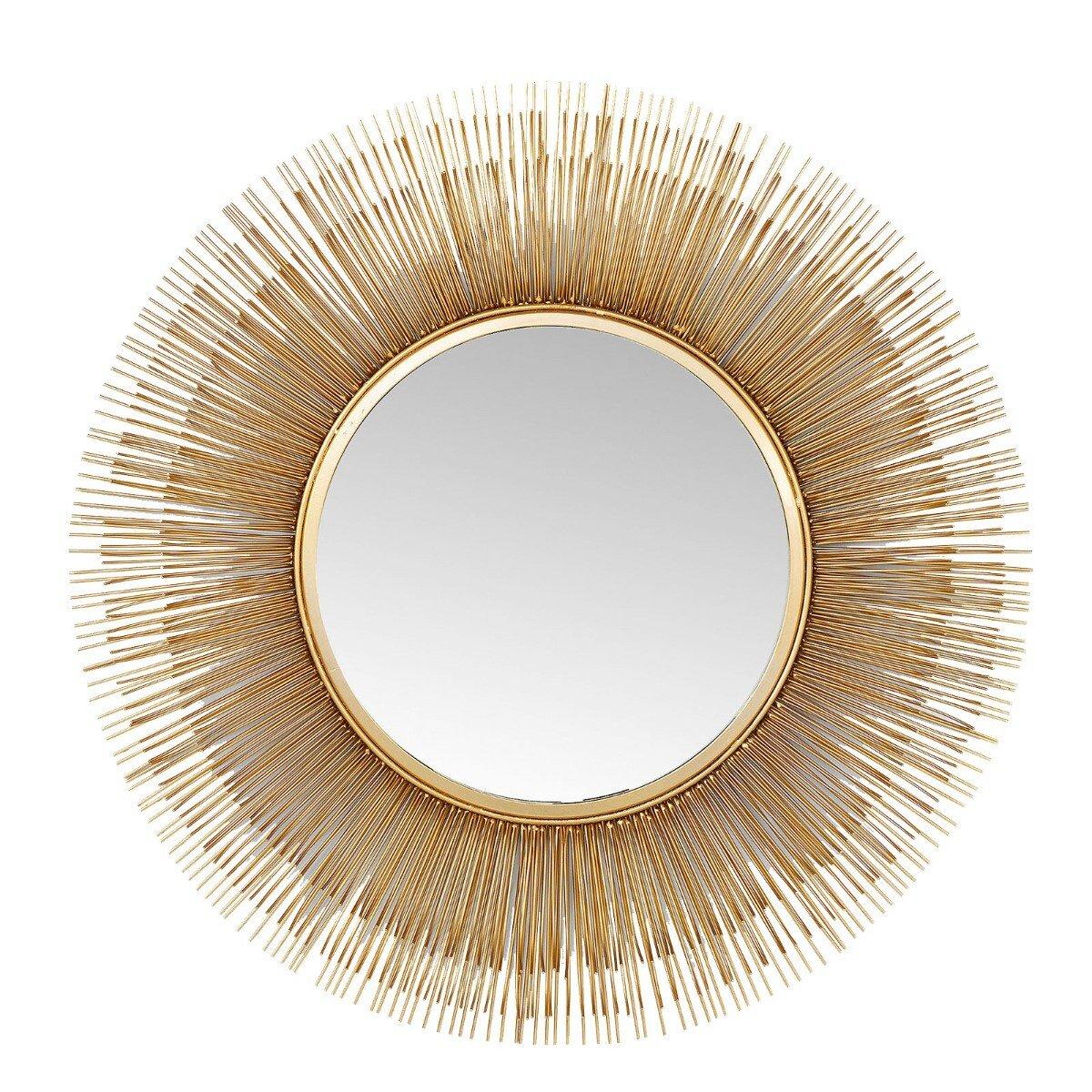 Kare Design spiegel sunburst tre goud �87