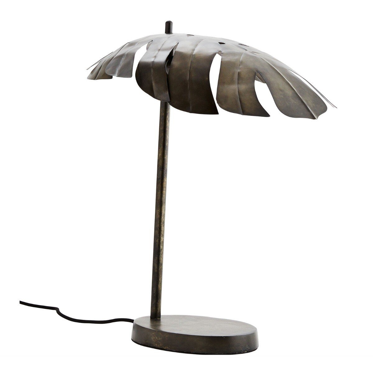 Madam Stoltz tafellamp aluminium ijzer 50 x 20 x 40