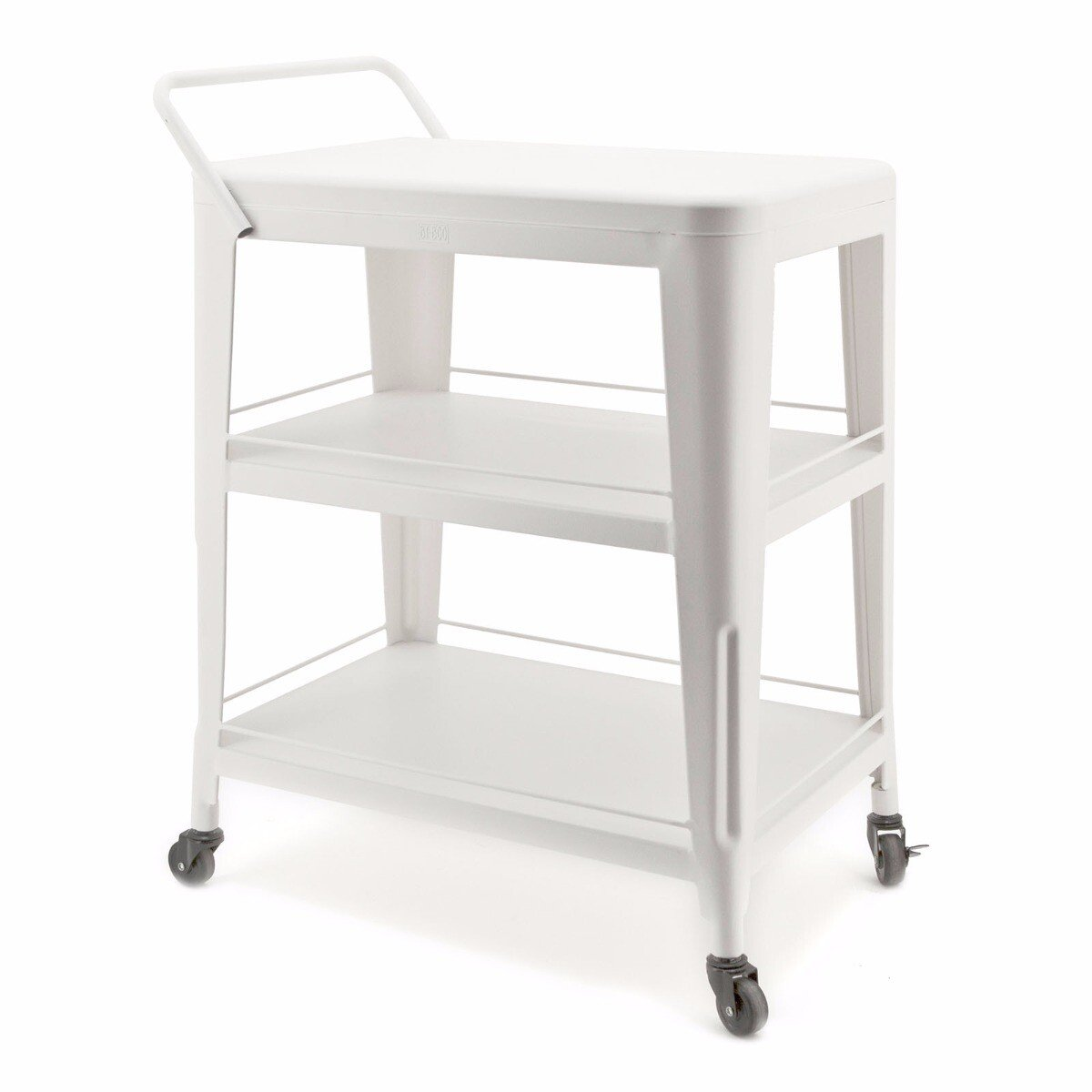 By Boo trolley bootlegger wit 82x61x41cm