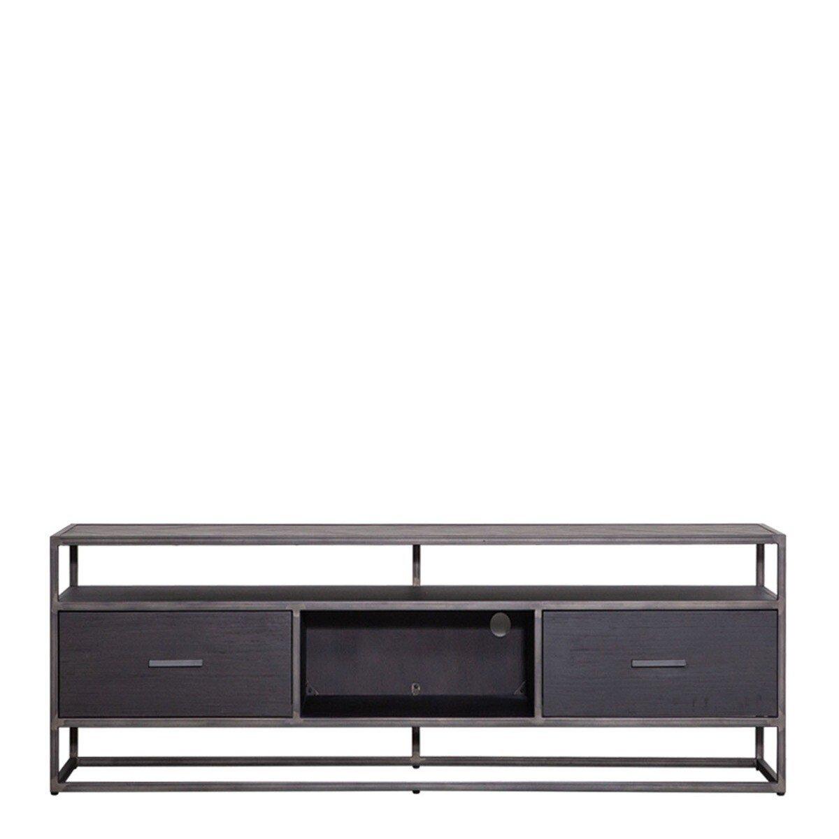 Eleonora TV meubel Hudson M Zwart 55 x 150 x 42