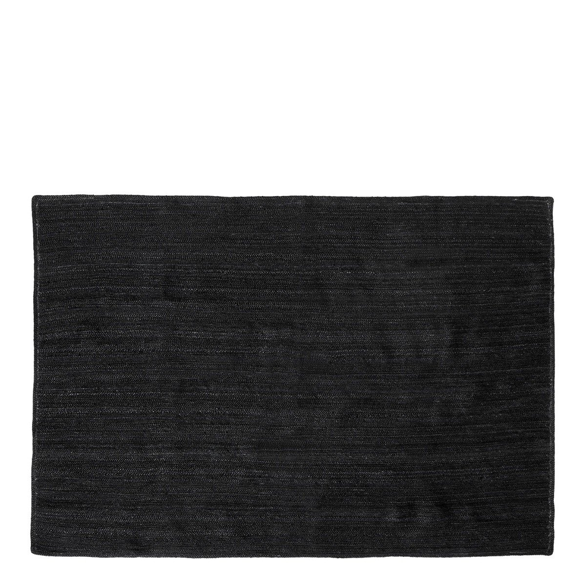 Nordal Vloerkleed Jute Zwart 240 x 160