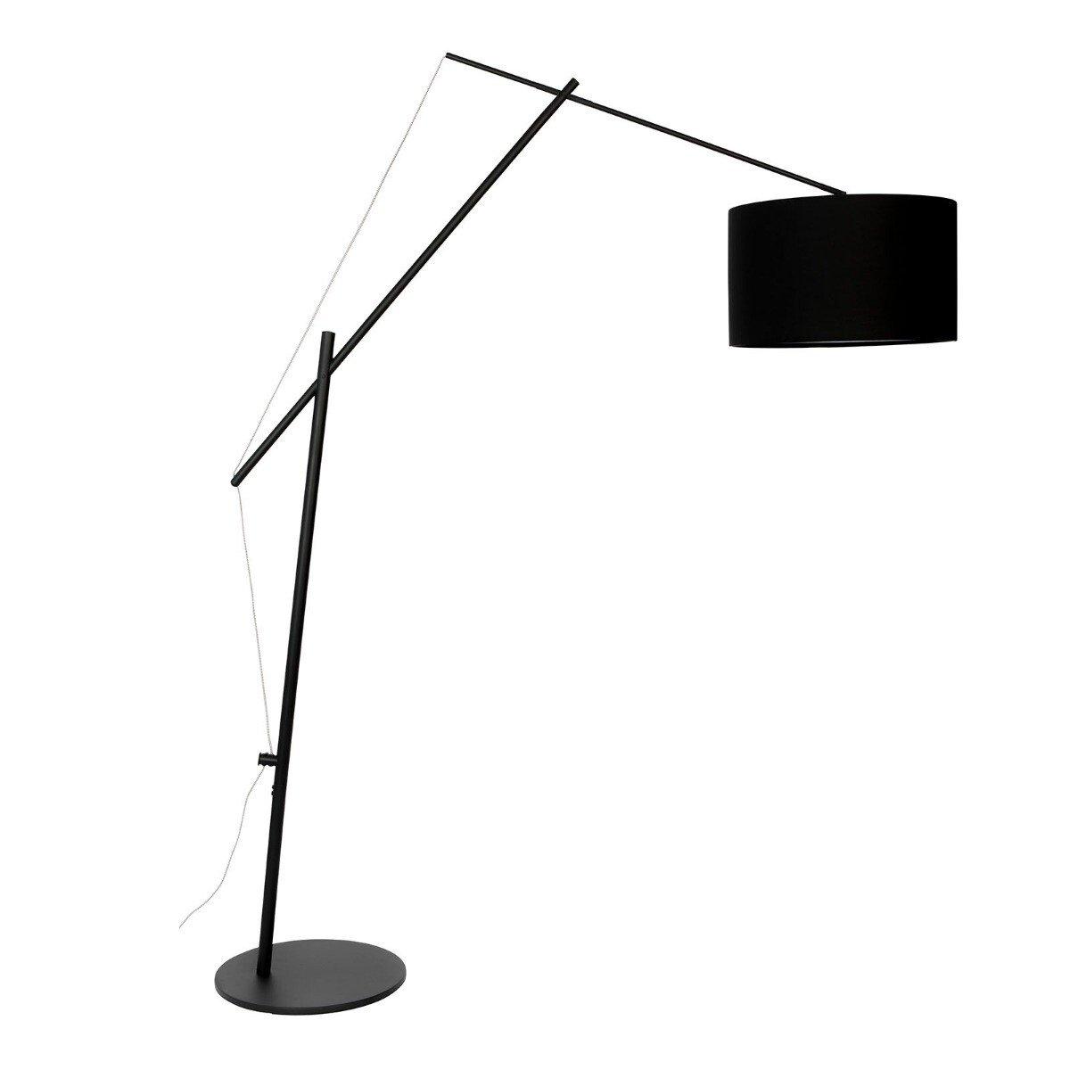 Wants&Needs vloerlamp Tokio zwart 210 x 50 x 168
