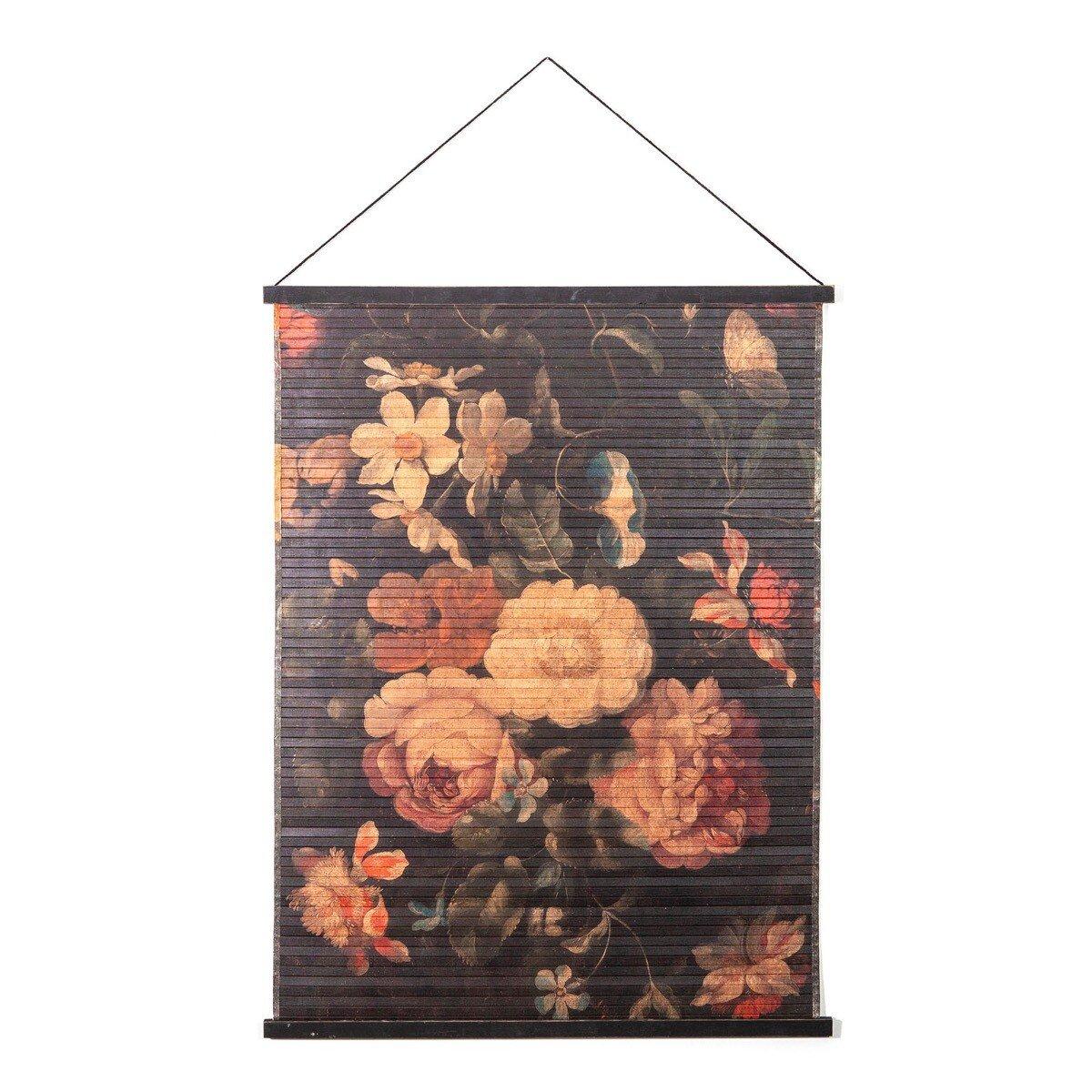 By Boo wandkleed miyagi flowers l 120 x 90 x 2
