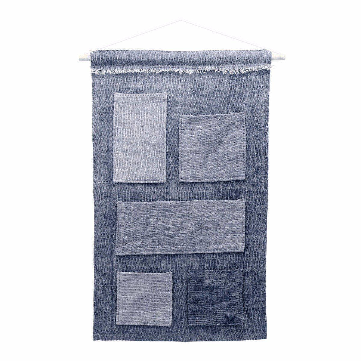 By Boo wandkleed mono blauw 100 x 70