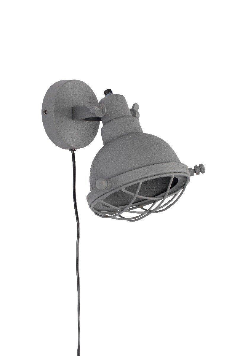 Wants&Needs wandlamp Evan mat grijs 24 x 21 x 25