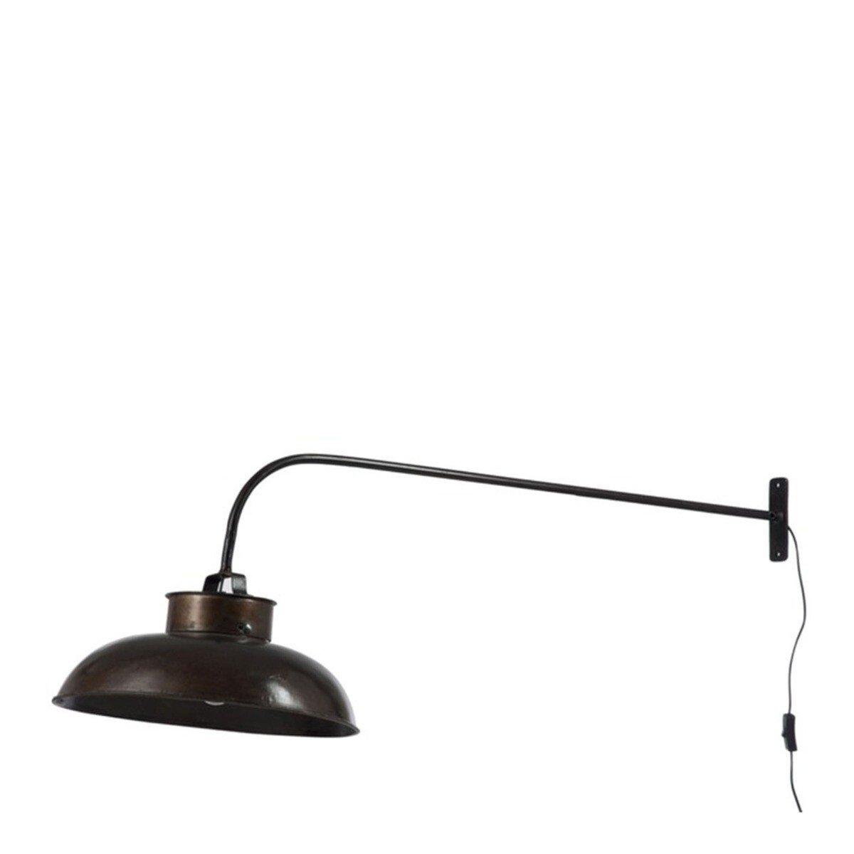 J-Line wandlamp lounge zwart 45 x 100 x 36.5