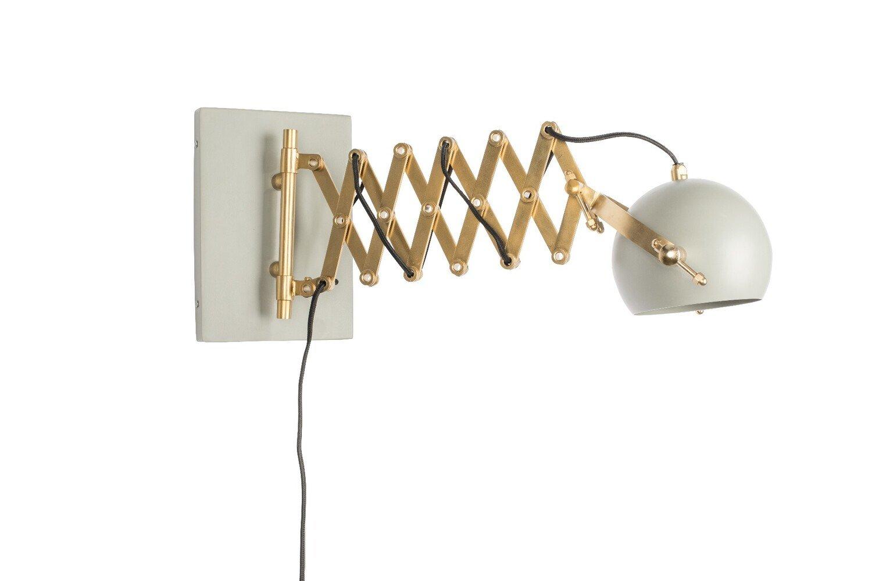 Wants&Needs wandlamp Sarana grijs 25,5 x 17 x 36 - 64