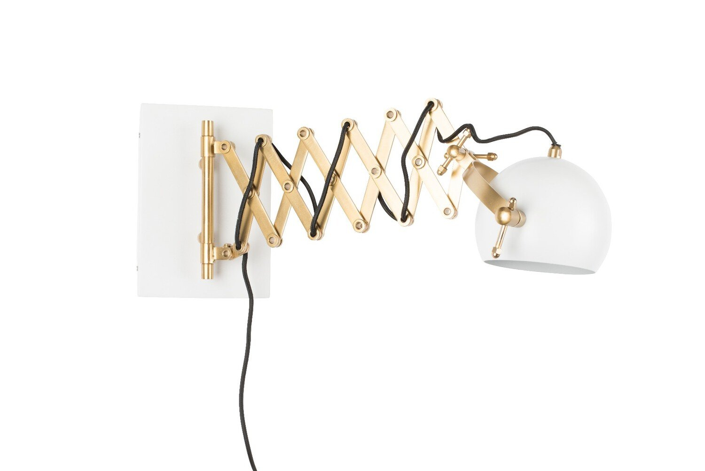 Wants&Needs wandlamp Sarana wit 25,5 x 17 x 36 - 64