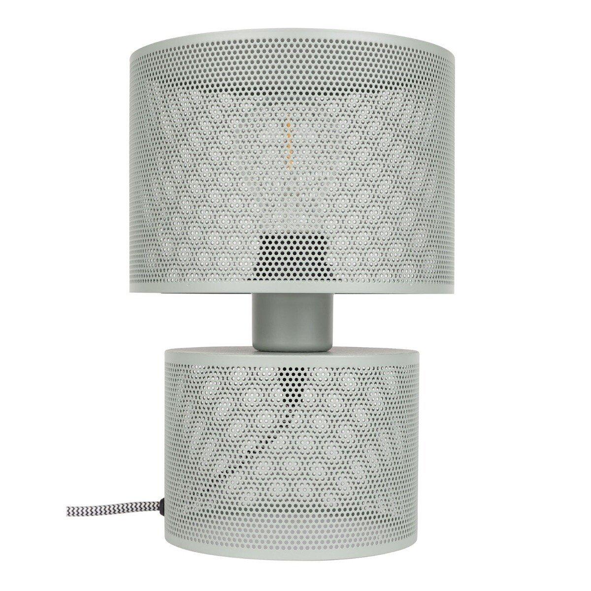 Zuiver Tafellamp Grid Grey Metaal �18 x 26,5